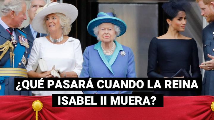 ¿Cuál es el protocolo que se seguirá cuando muera la Reina Isabel II?