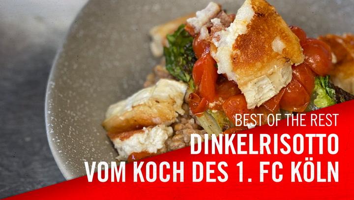 Dinkelrisotto-Rezept vom Koch des 1. FC Köln
