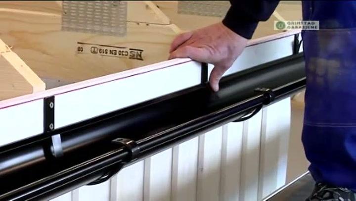 Bygge garasje: Hvordan montere takrenne