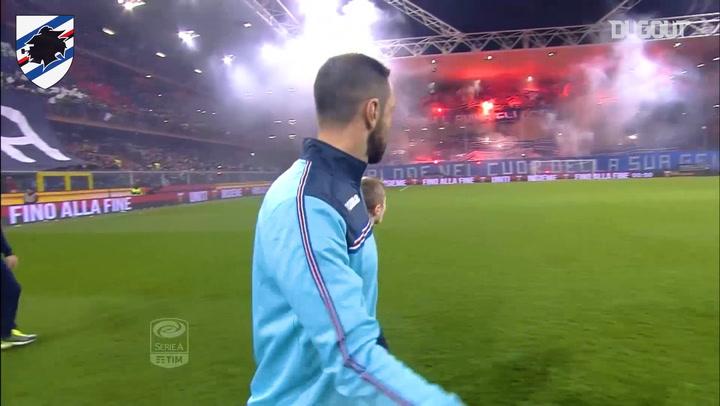 Sampdoria Vs Genoa: Incredible Tifos