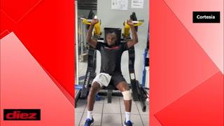 El delantero Alberth Elis no se detiene y acelera su recuperación pensando en la Copa Oro 2021
