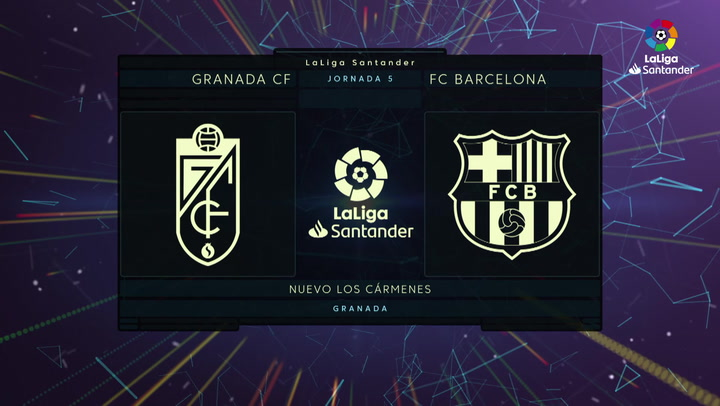 LaLiga (J5): Resumen y goles del Granada 2-0 Barcelona
