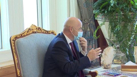 El presidente de la FIFA Gianni Infantino da positivo por covid-19