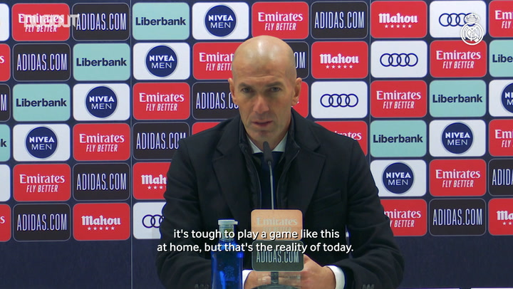 Zinedine  Zidane: 'I'm responsible for all of this'