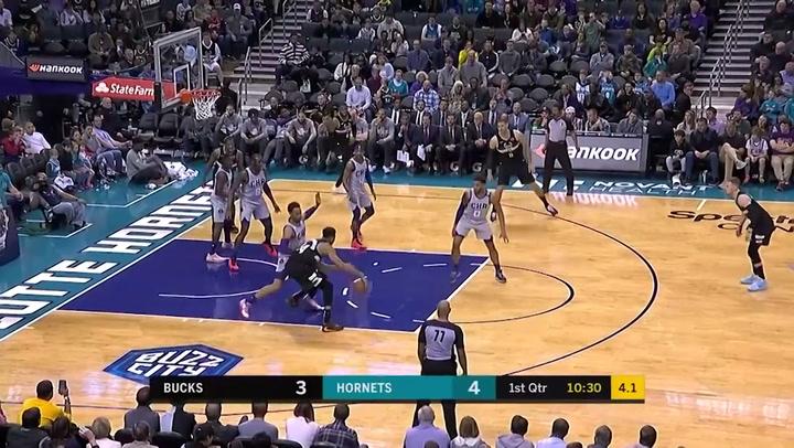 Giannis Antetokounmpo (Bucks), el más destacado de la jornada de la NBA del 1 de marzo 2020