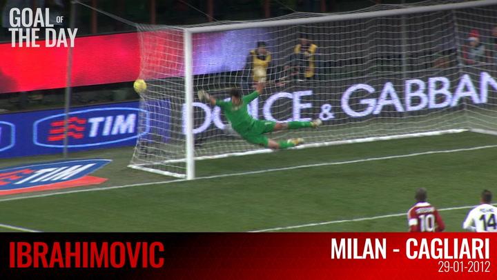 OTD: Ibra's goal vs Cagliari (2012)