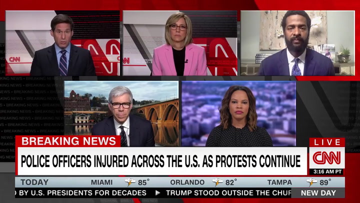 CNN's Sellers on Trump Using Tear Gas to Move Protesters: 'George Wallace Is Probably Looking Up at Him with a Smile'
