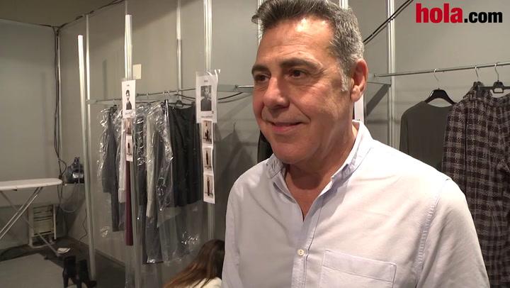 Ángel Schlesser: 'Destacan las prendas con movimiento para una mujer armónica y sútil'