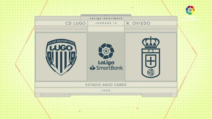 LaLiga SmartBank (J14): Resumen del Lugo 0-0 Oviedo