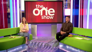 The One Show: Alex Jones jokes about Mr Blobby comparisons