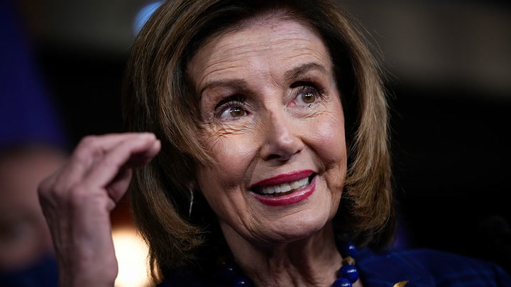 Watch live as House Speaker Nancy Pelosi participates in signing of bill enrollment