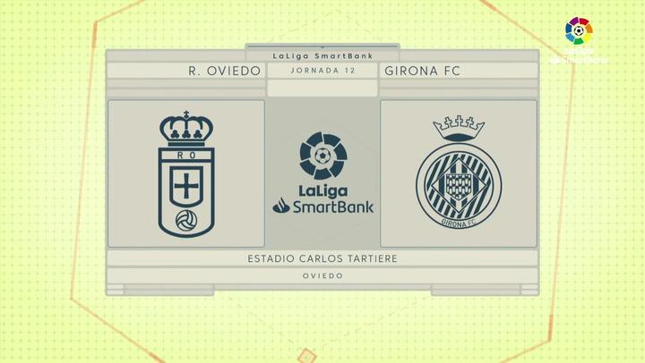 LaLiga SmartBank (J12): Resumen y goles del Oviedo 4-2 Girona