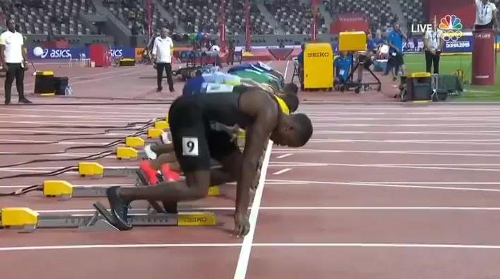 """Impresionante final de Chris Coleman, nuevo rey de los 100 metros (9""""76)"""