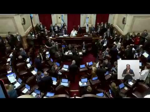 ¡Vamos todavía!, el festejo de Michetti tras la votación