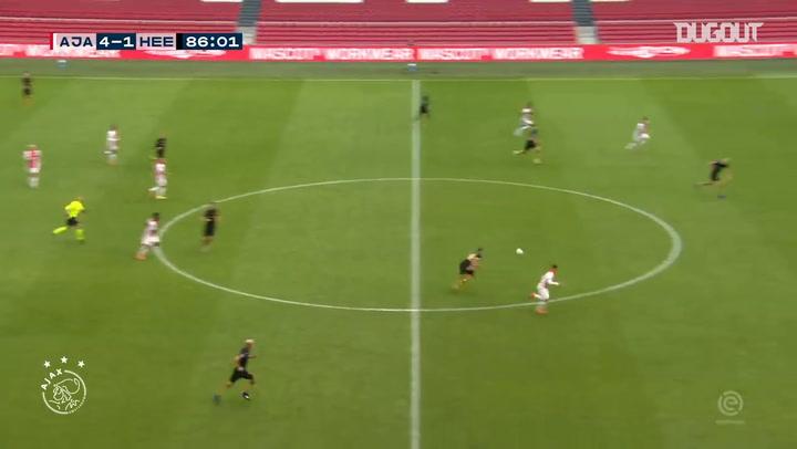 Antony rounds off Ajax victory over Heerenveen