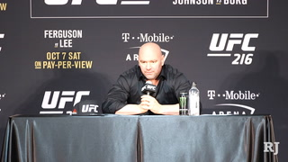 Dana White on how Vegas pulled together following tragedy