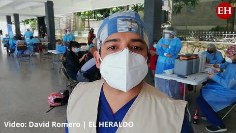 Coronavirus: Vacunarán hasta las 2:00 de la tarde en el Instituto Central Vicente Cáceres