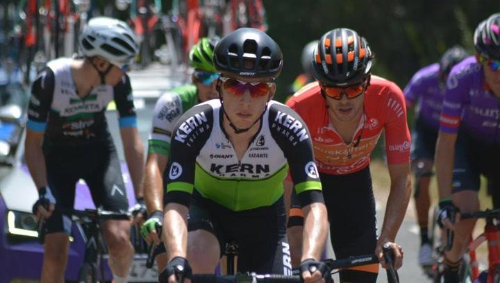 Roger Adrià, el joven ciclista que jugó en el RCD Espanyol y que maravilla en Burgos