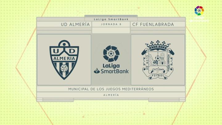 LaLiga SmartBank (J8): Resumen del Almería 3-0 Fuenlabrada