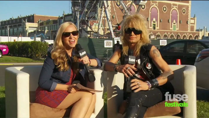 Festivals:Bamboozle: Michael Monroe Gets Paid by the Government to Rock