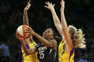 Las Vegas Aces vs Los Angeles Sparks highlights (WNBA)