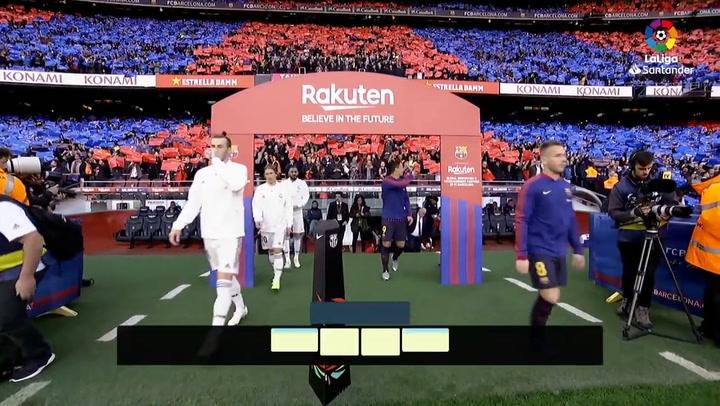 LaLiga: Resumen y Goles del Partido Barça (5) - (1) Real Madrid del 28/10/2018