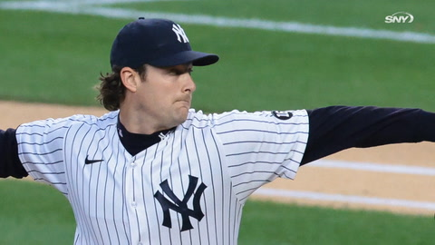 How many will Yankees' Gerrit Cole strike out in first start against Astros?