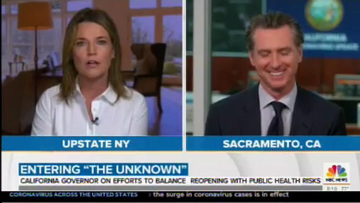 Newsom to Trump on Mail-in Voting: Stick to Facts, 'No Evidence Whatsoever' of Fraud