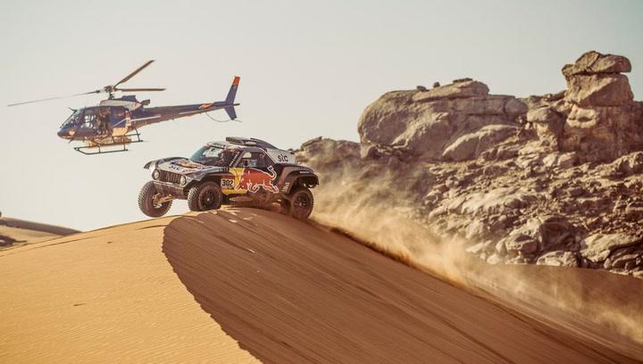 Los mejores momentos de la 11ª etapa de coches en el Dakar 2021