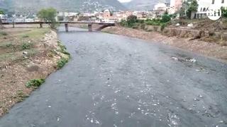 Río Choluteca arrastra gran cantidad de basura tras lluvias
