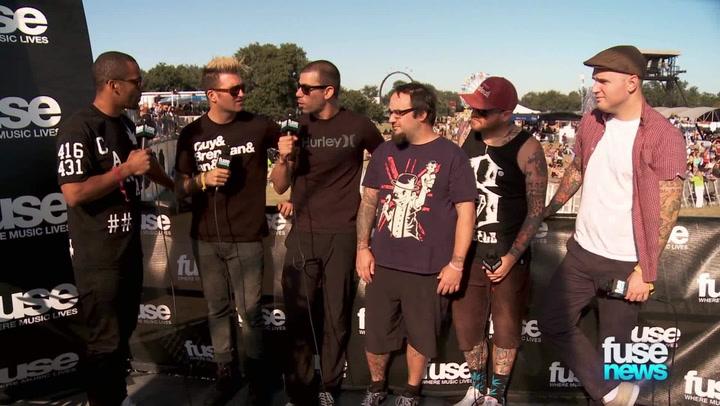 """Festivals: Voodoo 2013: New Found Glory Talk Recording 'Kill It Live': """"Kids Lost Their Minds"""""""