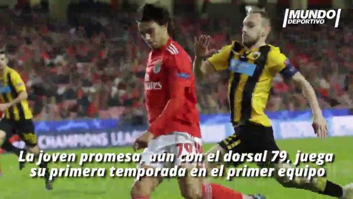 Joao Félix, la perla del Benfica que quiere el Barça