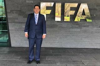 Gabriel Rubí se fue hasta la FIFA para pedir elecciones en la Fenafuth