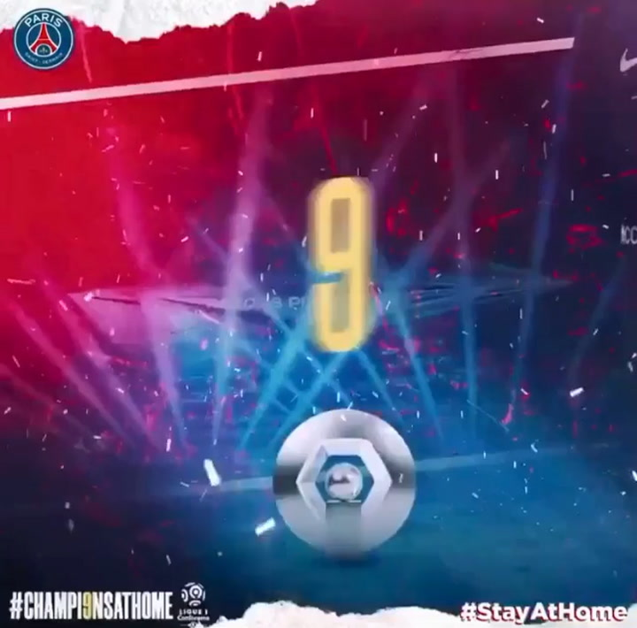 El PSG celebra el título de Liga