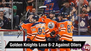Golden Edge: Oilers Win Big Against Knights
