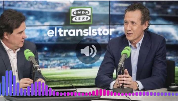 Jorge Valdano dio sus impresiones tras el partido de la Real contra el Real Madrid, en El Transistor de Onda Cero