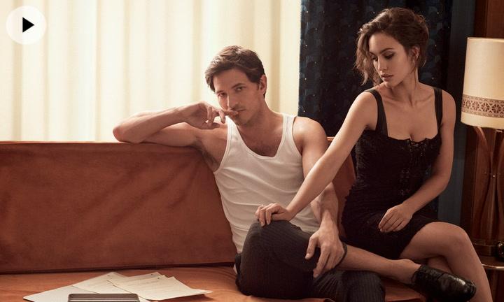Megan Montaner y Andrés Velencoso se reencuentran en Fashion octubre