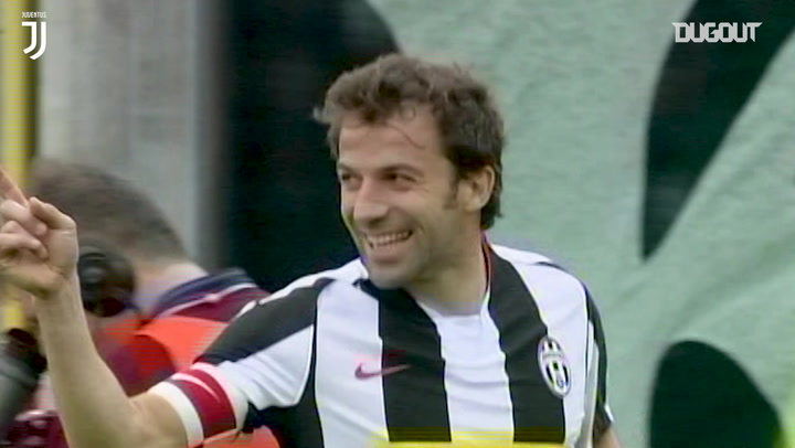 Alessandro Del Piero scores treble against Atalanta