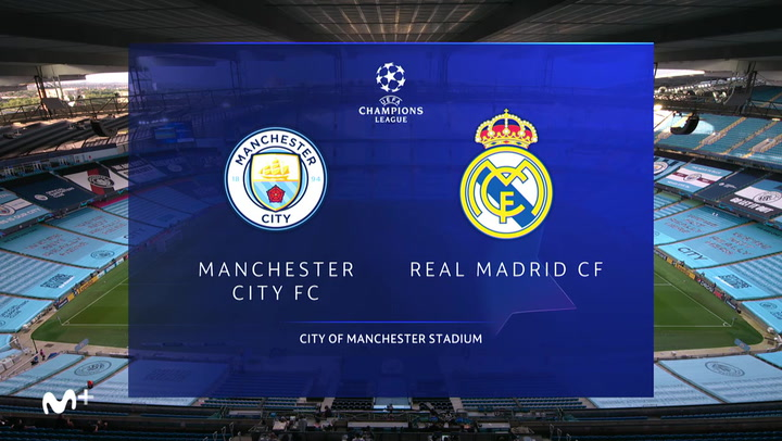 Champions League: Resumen y Goles del Manchester City-Real Madrid
