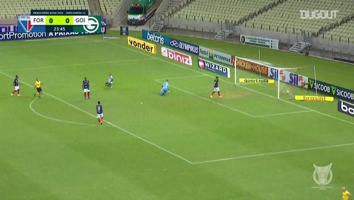 Highlights: Fortaleza 1-1 Goiás