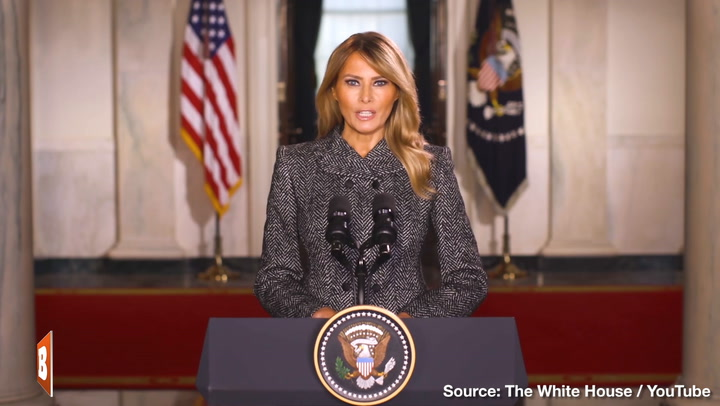 Melania Trump Bids Farewell to the American People: