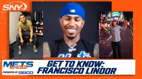 Francisco Lindor rates his teammates' outfits, explains his various hair styles