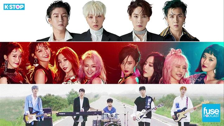 DAY6, Wanna One, Winner, Celebrating Girls' Generation's 10th Anniversary: K Stop