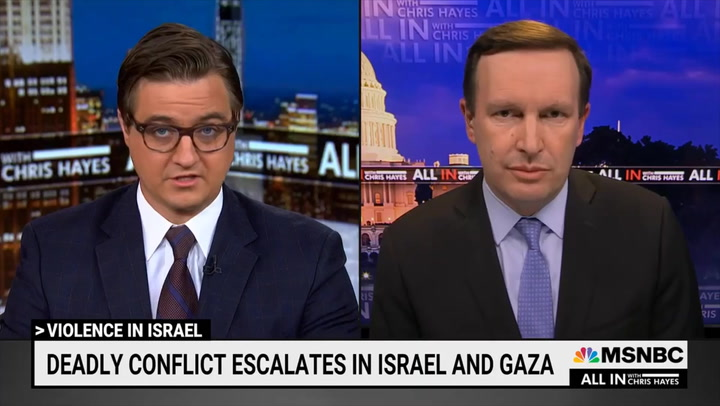 MSNBC's Hayes: Part of Me Thinks, 'Can We Get an Iron Dome for Gaza' So Children there 'Don't Have Death Rain Down Upon Them?'