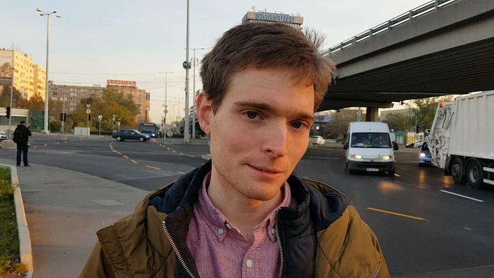 Indul a metrópótlás, reggeli helyzet az Árpád hídnál
