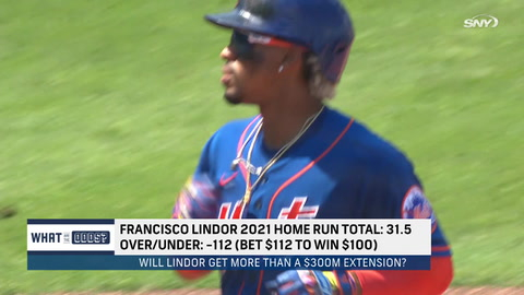 How many home runs will Francisco Lindor hit in 2021?