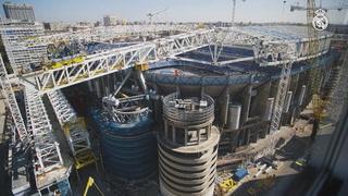 Las nuevas imágenes de la transformación histórica del Santiago Bernabéu
