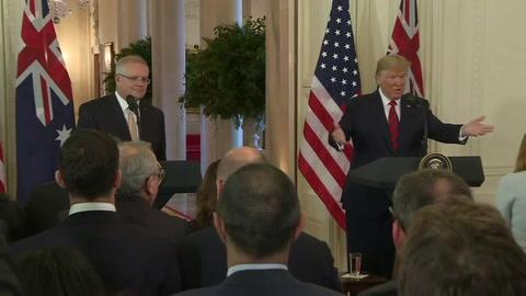 Trump dice que no es necesario un acuerdo comercial con China antes de elecciones 2020