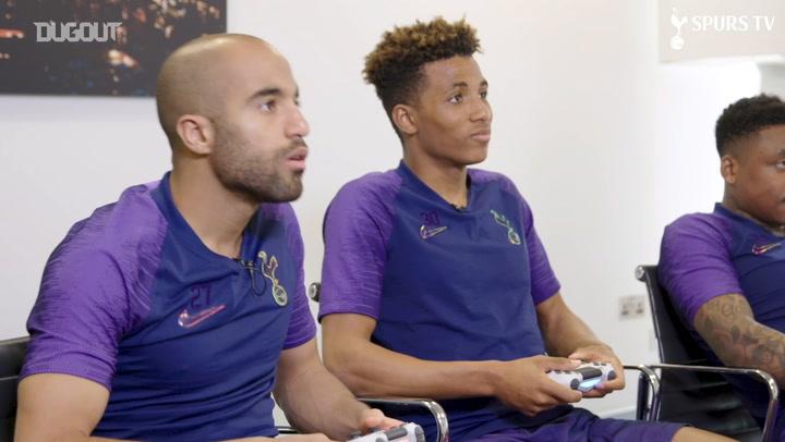 Spurs players face FIFA 20 battle