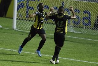 Darixon Vuelto aprovecha errorazo del defensa y pone al Real España a ganar ante Real de Minas